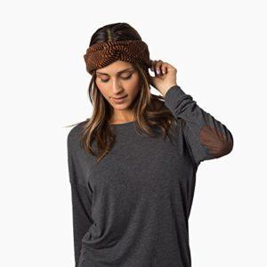 Krochet-Kids-Womens-Arizona-Turban-in-Sepia-Size-OSFM-0
