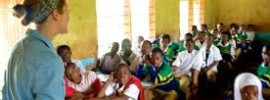 Volunteer Teaching in School Tanzania